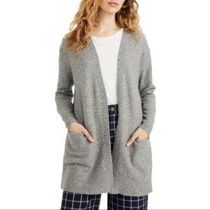 Madewell Kent Cardigan Cozy Alpaca Blend Sweater
